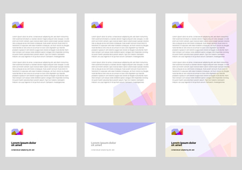 Free Letter Head Design Vector - Free vector #338631