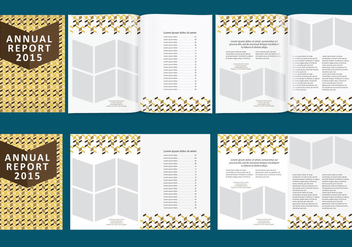 Chevron Annual Report - бесплатный vector #338781