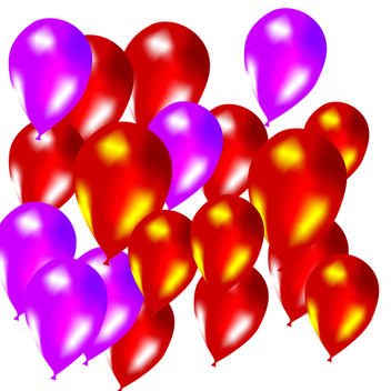 Balloons - Free vector #338871