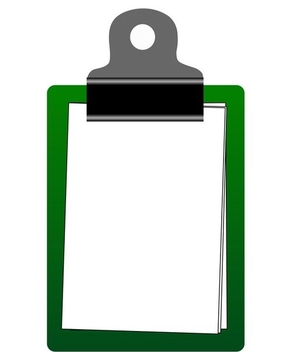 Clipboard - Kostenloses vector #338931