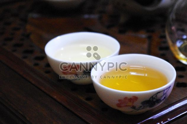 Warm tea in bowls - Free image #339231