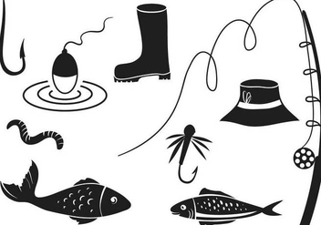 Free Fishing Vectors - vector gratuit #339341