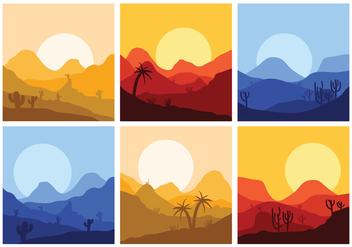 Vector Landscape - Free vector #339501