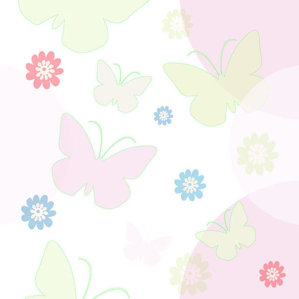 Seamless Spring Background - vector gratuit(e) #339691