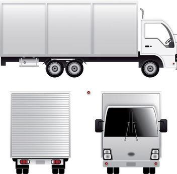 Cargo Van - Free vector #339961