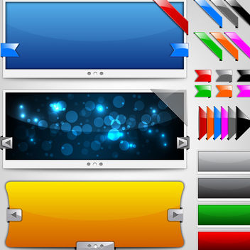 Slider Templates - Free vector #340201