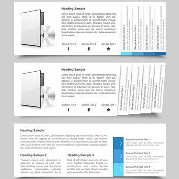 Web Navigation Slides - vector #340301 gratis
