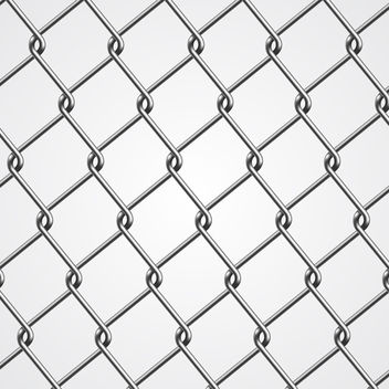 Vector Chain Fence - vector gratuit #340311