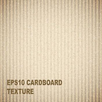 Cardboard Texture - vector gratuit #340331
