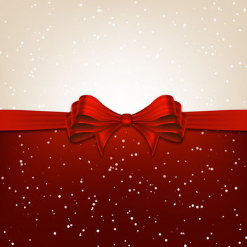 Vector Christmas Ribbon - Free vector #340481