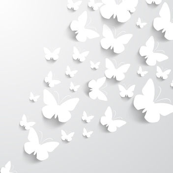 Paper Butterflies - бесплатный vector #340731