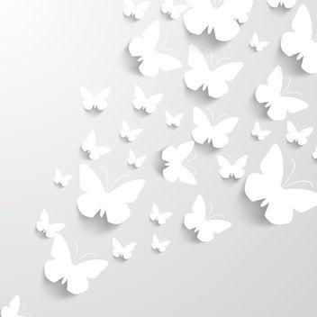 Paper Butterflies - Free vector #340731