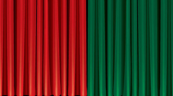 Theater Curtain - Free vector #341181