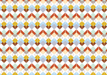 Argyle geometric pattern background - vector gratuit #341871