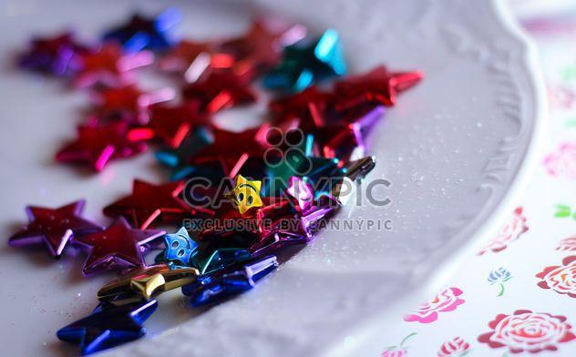 Vanille-Stilleben mit Perlen und glitter - Kostenloses image #342101