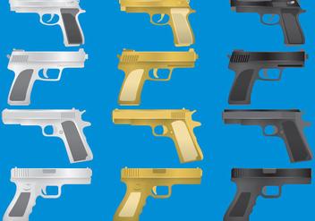 Gun Glock Vectors - Free vector #342241