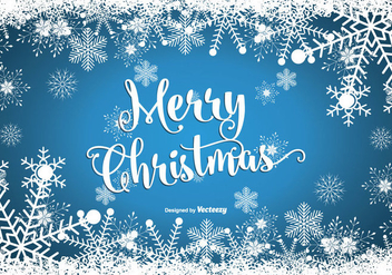 Merry Christmas Illustration - vector gratuit(e) #342281
