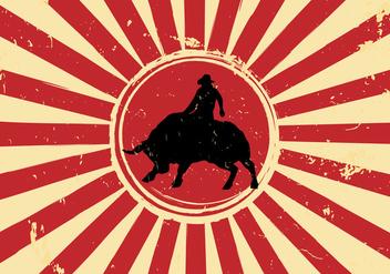 Free Vector Bull Rider - vector gratuit(e) #342371