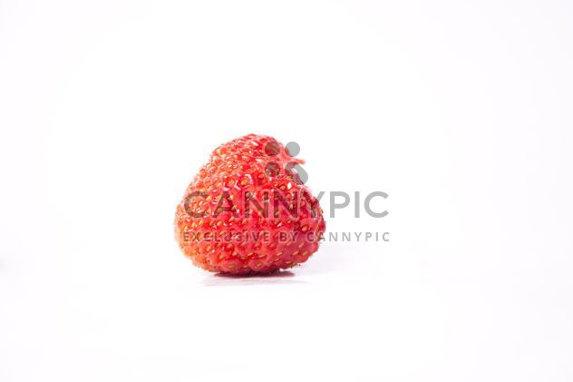 Fresh strawberry on white background - Free image #342521