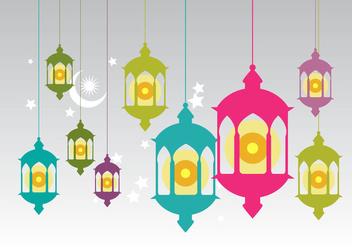 Free Pelita Oil Lamp Vector - Free vector #342711