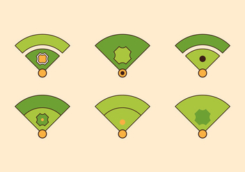 Free Baseball Vector Icon Illustrations #3 - Free vector #343171