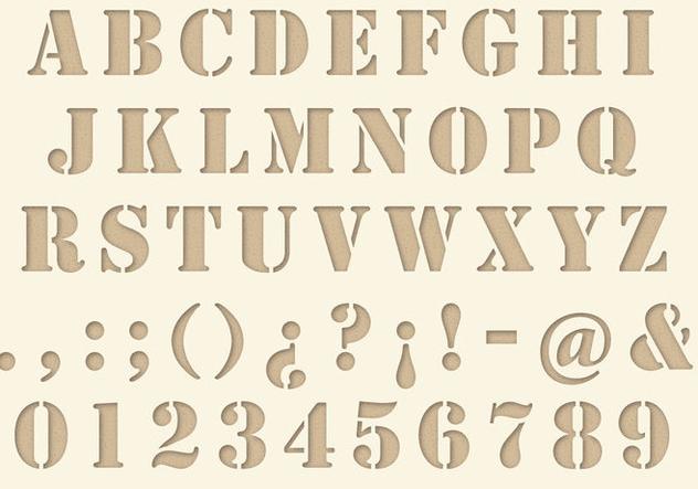 Die Cut Type - Free vector #343671