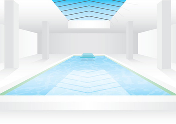 Interior Pool - vector #343761 gratis