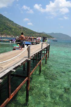 Nangyuan lsland beach pier - Free image #343871