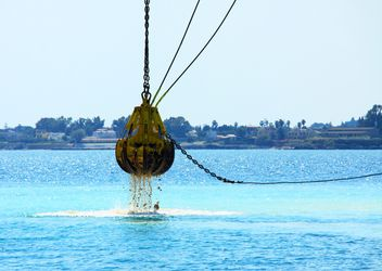 Dredging in the sea - image #343991 gratis