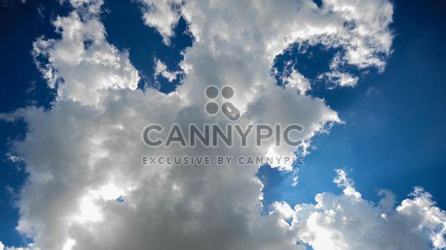 Cloudy blue sky - Free image #344141