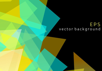 Geometric Prizma Vector Background - Free vector #344301