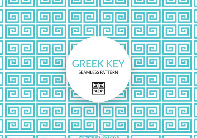 Free Greek Key Vector Pattern - Kostenloses vector #344461