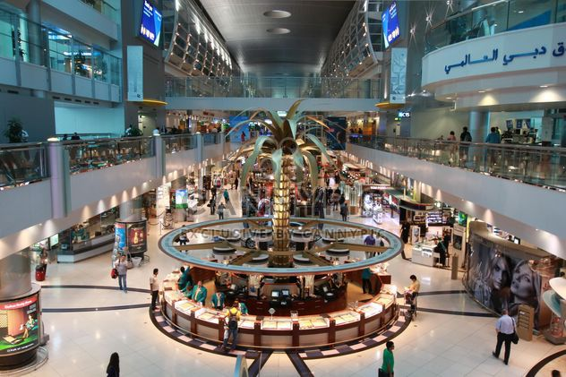 Interior of Dubai International Airport - Free image #344531