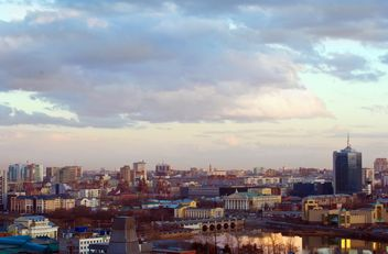 Aerial view on architecture of Chelyabinsk - image gratuit(e) #344601