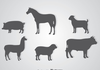 Silhouette Animals - Free vector #344901