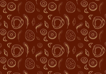Bakery Vector Pattern - Free vector #345131