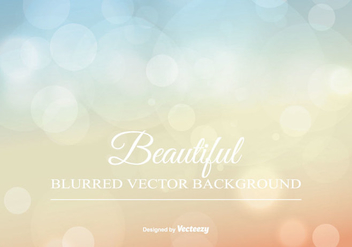 Beauitiful Blurred Summer Background - Free vector #345261