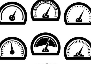 Tachometer icons - Free vector #345631