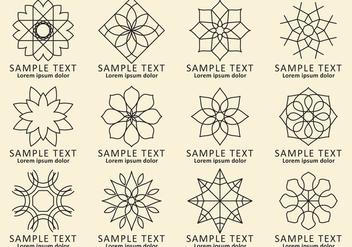 Arabesque Logos - бесплатный vector #345691
