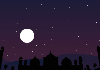 Arabian Night Vector - Free vector #345761