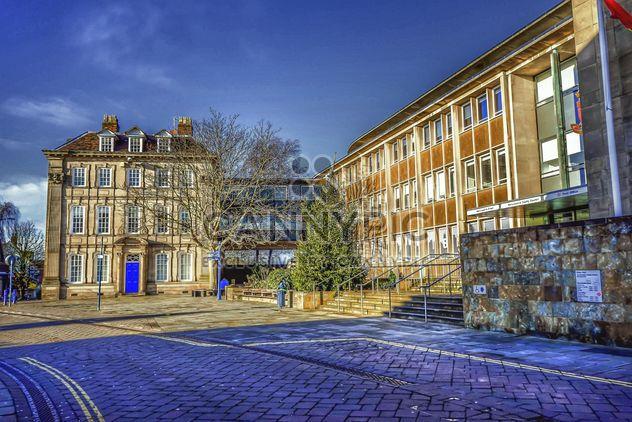 Architecture dans la ville de Warwick, Angleterre - image gratuit #346201