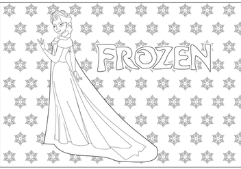 Color Plate Frozen - vector gratuit #346341