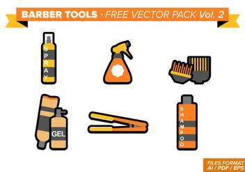 Barber Tools Free Vector Pack Vol. 2 - Kostenloses vector #346381