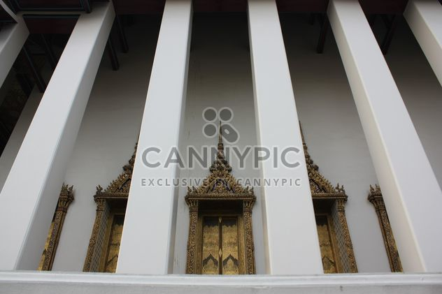Colonnes du temple à Bangkok, Thaïlande - image gratuit #346551
