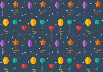 Free Balloons Pattern #7 - Free vector #346781