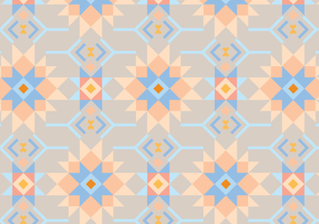 Peach and Blue Abstract Background - vector #347041 gratis