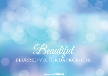 Beautiful Blurred Background Illustration - Free vector #347131