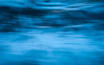Abstract background of blue sea - image gratuit #347221