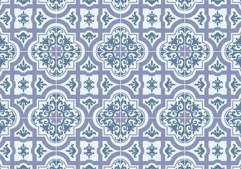 Azulejos Tile Vector - Kostenloses vector #347401
