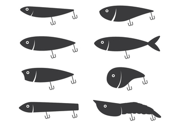 Fishing Lure Icon - Kostenloses vector #348291